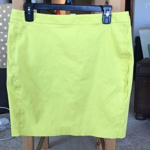 Banana republic short pencil skirt